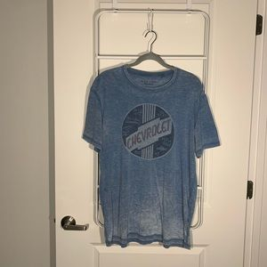 Lucky Brand Venice Burnout Chevrolet Tee Large